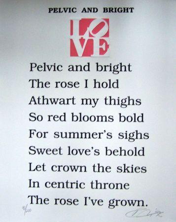 Aquatint Indiana - Pelvic and bright the book of love
