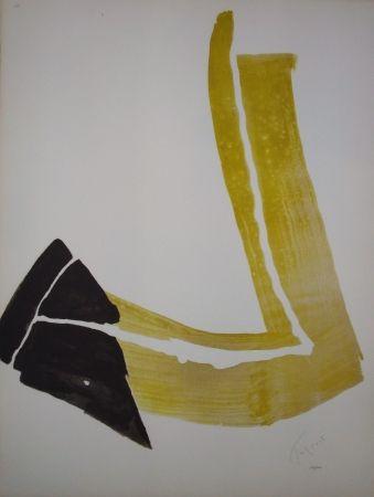 Lithograph Tal Coat - Penchée