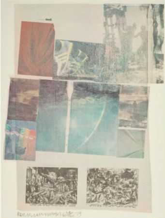 Lithograph Rauschenberg - People Have Enough Trouble Without Being Intimidated by an Artichoke