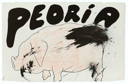 Lithograph Dine - Peoria
