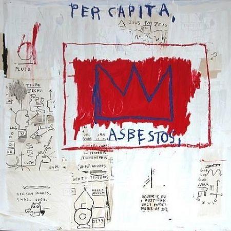 Screenprint Basquiat - Per capita