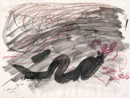 No Technical Kirkeby - Per Kirkeby (1938-2018).Sans titre, 1980. Encre, lavis d'encre et crayon.