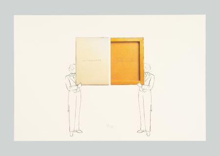 Lithograph Paolini - Per un verso o per l'altro e altro ancora