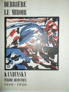 Linocut Kandinsky - Periode dramatique 1910.1920