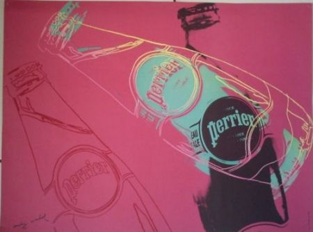 Screenprint Warhol - Perrier