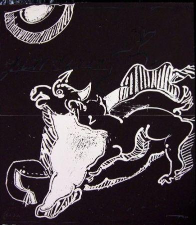 Engraving Ortega - PERROS