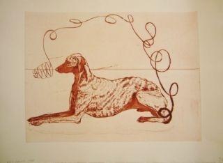 Etching And Aquatint Smith -  Perros de piedra I A
