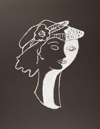 Lithograph Braque - Persephata