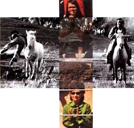 No Technical Baldessari - Person On Horse And Person Falling From Horse