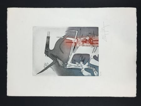 Etching And Aquatint Lam - Personaggi