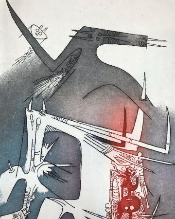 Etching And Aquatint Lam - Personaggi