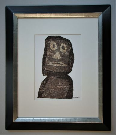 Lithograph Dubuffet - Personnage