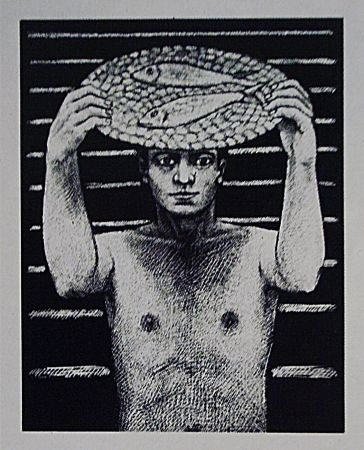 Lithograph Llimos - Pescater