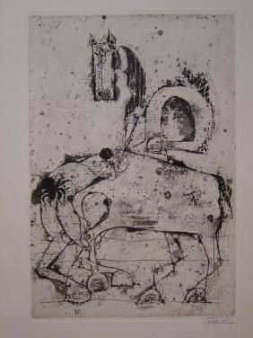 Etching And Aquatint Friedlaender - Petit Bestiaire