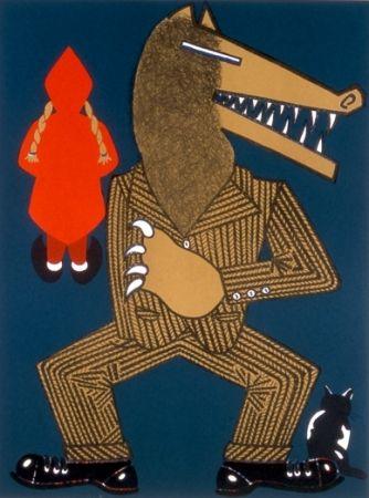 Lithograph Arroyo - Petit chaperon rouge