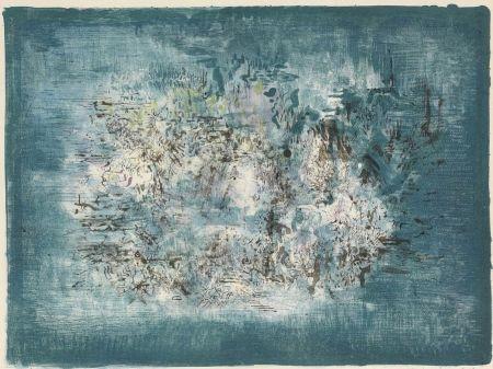 Lithograph Zao - Petit Jardin