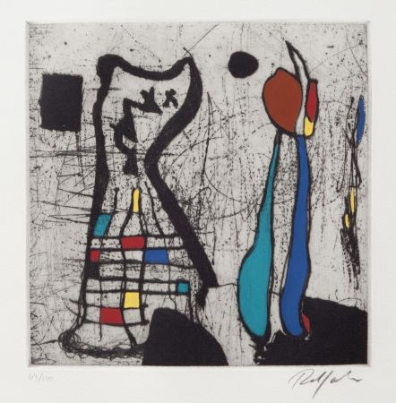 Drypoint Jacobsen - Petit Personnage II