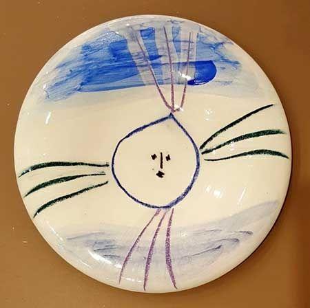 Ceramic Picasso - Petit Visage