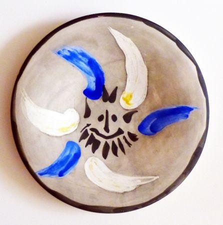 Ceramic Picasso - Petit visage 12