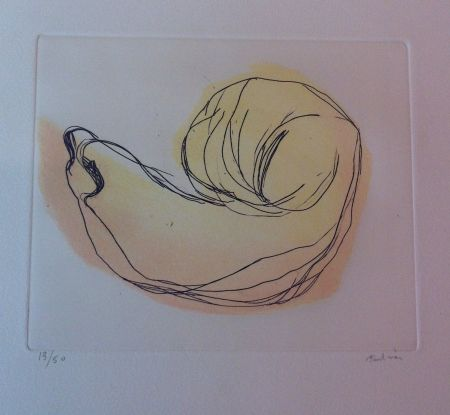 Etching And Aquatint Fautrier - Petite