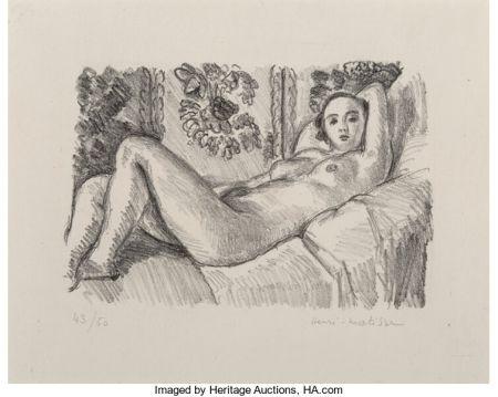 Lithograph Matisse - Petite Aurore
