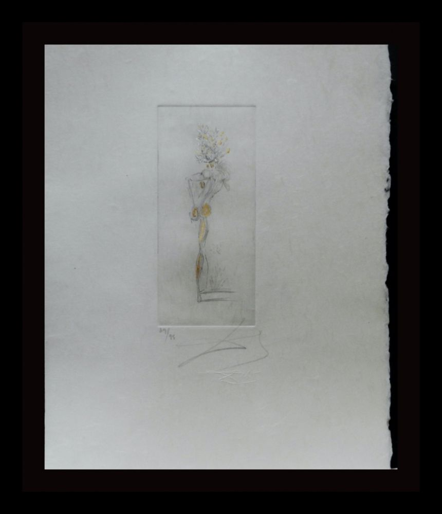 Etching Dali - Petite Nus (From Appolinaire) D