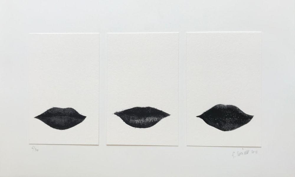 Screenprint Lucien - Petites Bouches