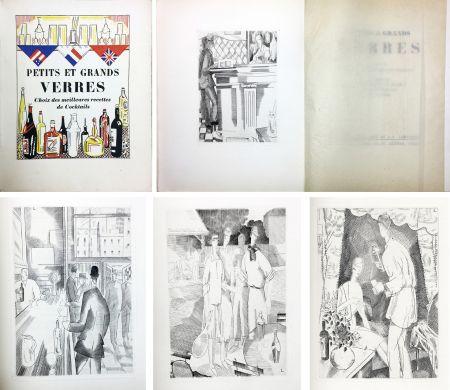 Illustrated Book Laboureur - PETITS ET GRANDS VERRES. Choix des meilleures recettes de Cocktails, recueilli par Nina Toye et A. H. Adair. Gravures et dessins de J.-E. Laboureur.