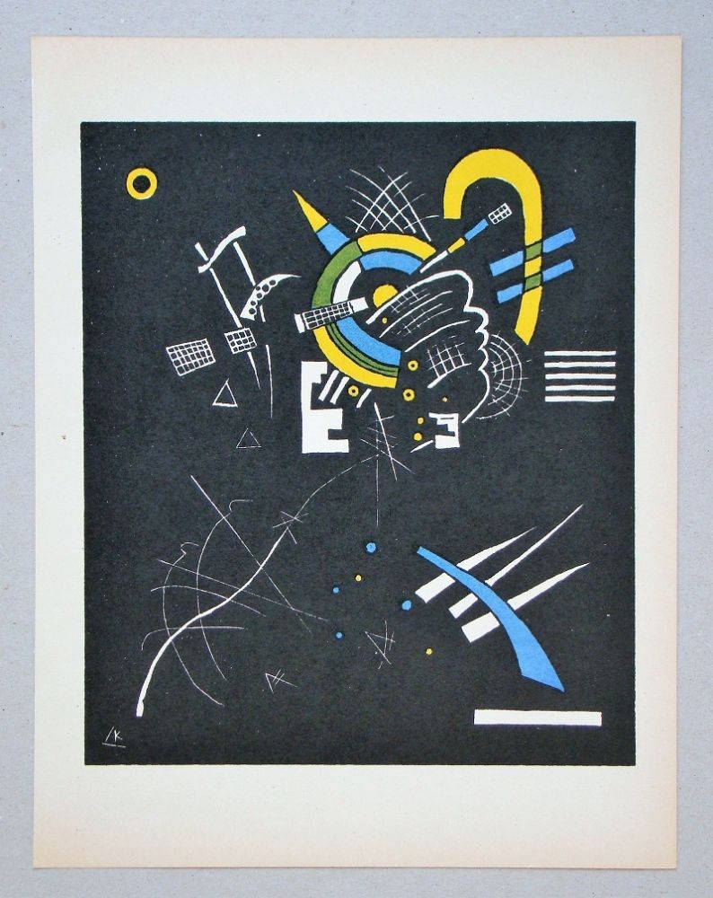 Lithograph Kandinsky - Petits Mondes - 1923