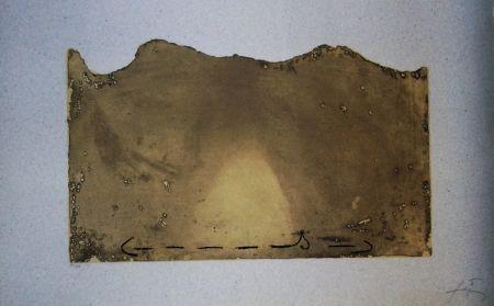 Etching And Aquatint Tàpies - Petrificada petrificante