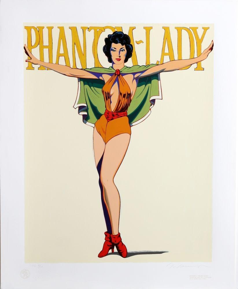 Screenprint Ramos - Phantom Lady (White)