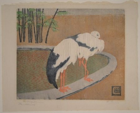 Woodcut Cunz - Philosophen