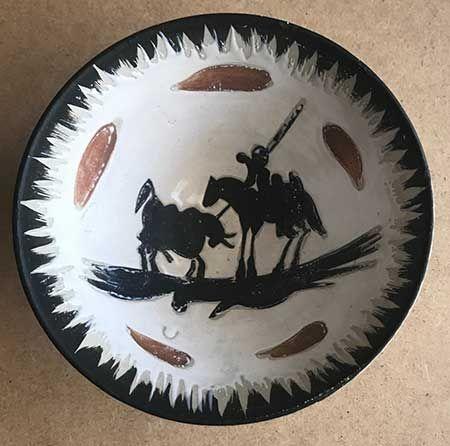 Ceramic Picasso - Picador