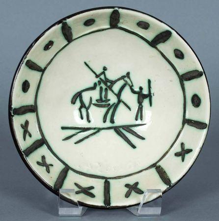 Ceramic Picasso - Picador, 1954