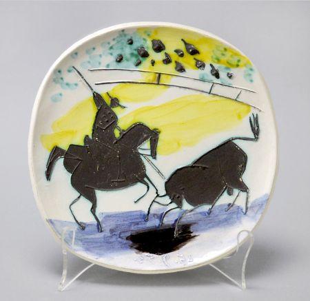 Ceramic Picasso - Picador and Bull, 1953