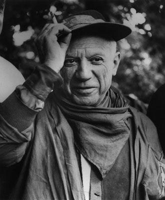 Photography Clergue - Picasso À La Féria De Nîmes