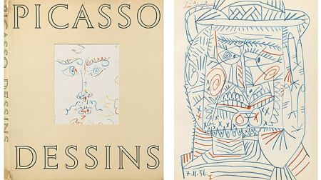 Illustrated Book Picasso (After) - Picasso - Dessin (1959)