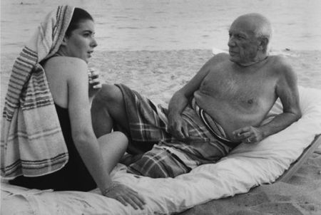 Photography Clergue - PICASSO AND CATHY