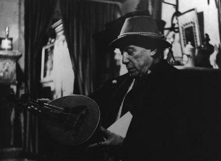 Photography Clergue - Picasso Avec La Mandoline