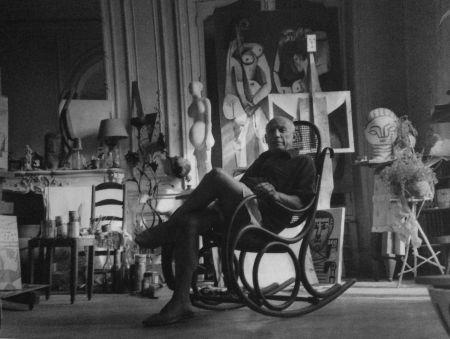 Photography Blum - Picasso dans son atelier
