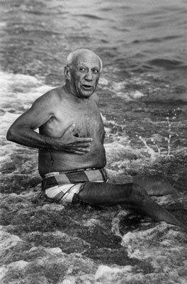 Photography Clergue - Picasso en la playa I