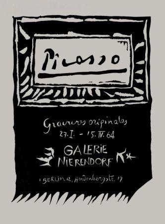 Linocut Picasso - Picasso Gravures originales