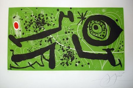 Etching And Aquatint Miró - Picasso i els Reventós