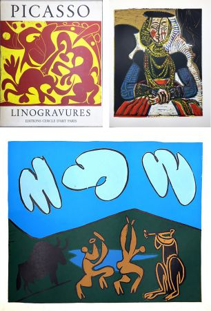 Illustrated Book Picasso - PICASSO LINOGRAVURES. (Picasso Linocuts). 1962.