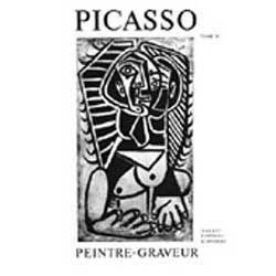 Illustrated Book Picasso -  Picasso Peintre-Graveur. Tome IV. Catalogue raisonné de l'oeuvre gravé et lithographié et des monotypes. 1946 - 1958.