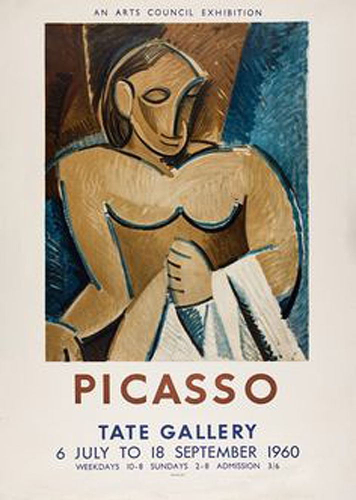 Lithograph Picasso - Picasso Tate Gallery 1960