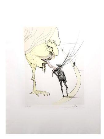 Lithograph Dali - Picasso: Un Billet pour la Gloire