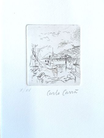 Engraving Carra - Piccolo molo