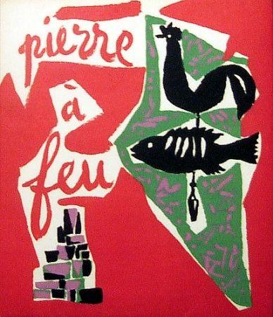 Illustrated Book Marchand - Pierre à feu. Provence noire