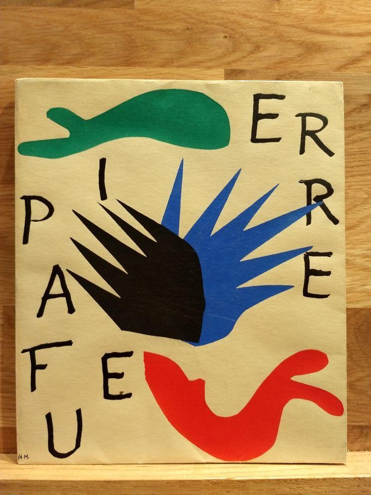 Illustrated Book Matisse - Pierre a feu